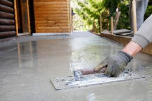 Отмостка бетоном
