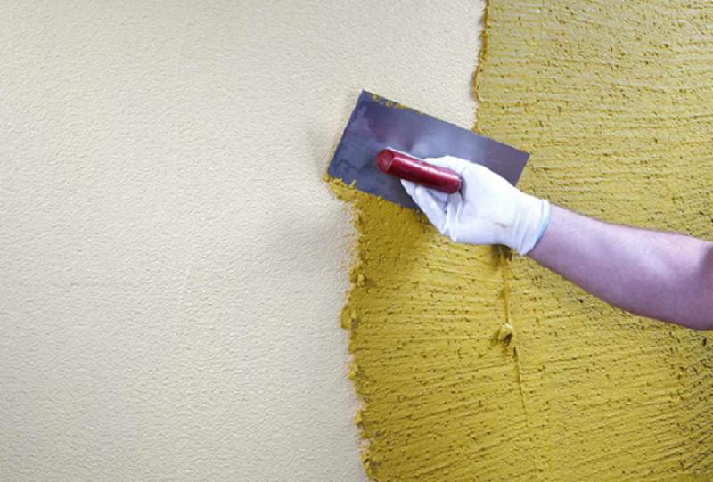 Подготовка поверхности и краска