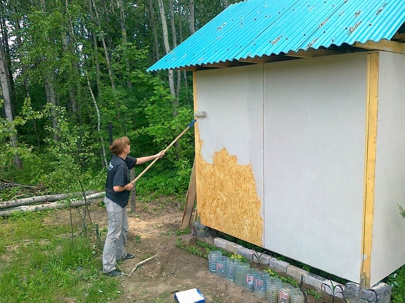 ОСБ фасадных плиты