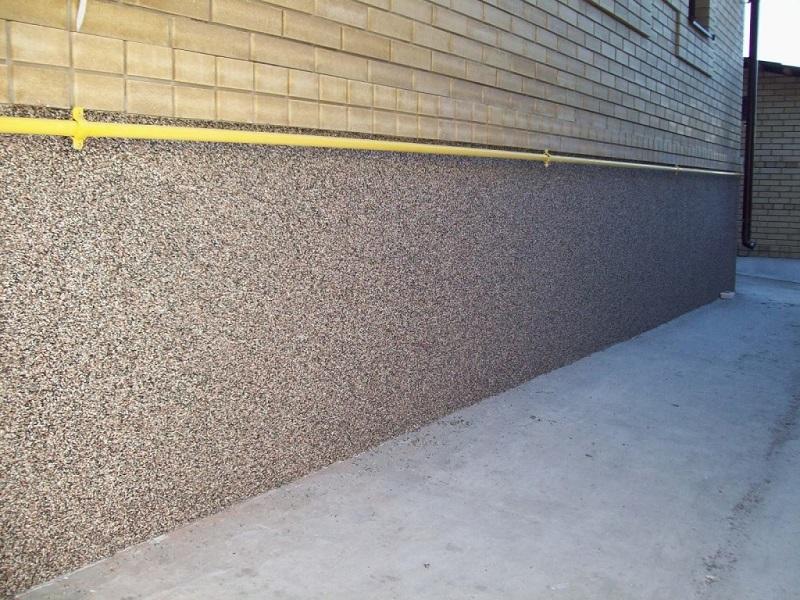 Цементный раствор для штукатурки цоколя цена заливка бетона в москве
