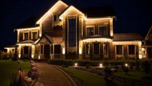 Настенные осветительные устройства для фасада