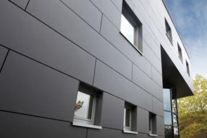 Фасады из фиброцементных плит