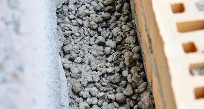 Утепление стен дома керамзитом