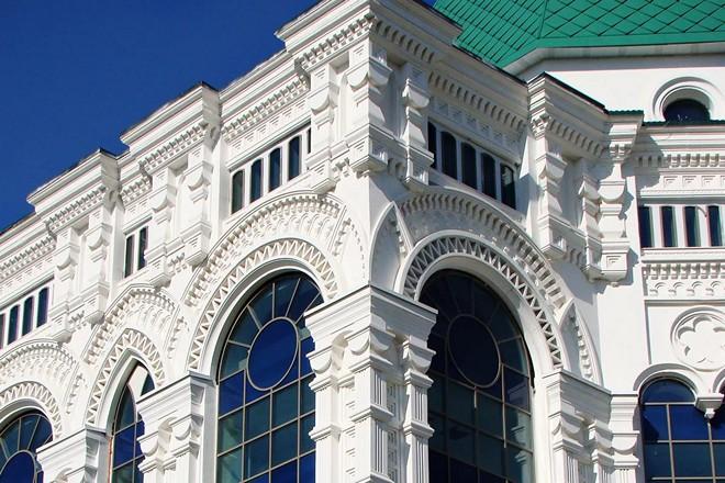 Архитектура фасадная лепнина