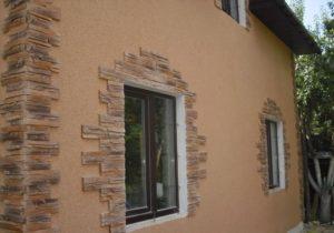 минеральная штукатурка фасад дома