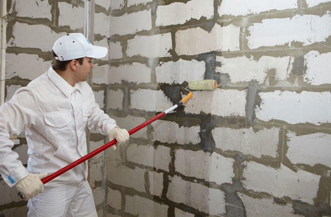 Подготовка бетонных стен к штукатурке