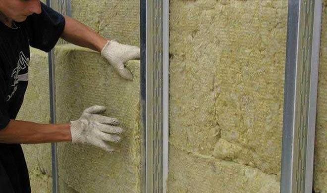Утепление базальтовой ватой фасадов
