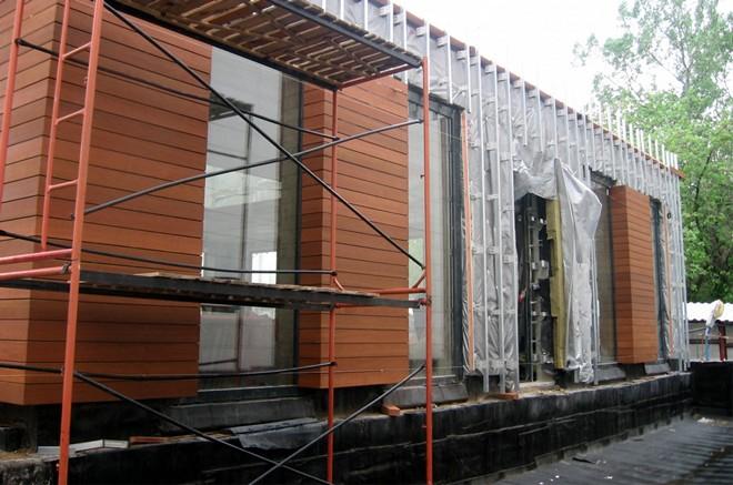 Вентилируемый навесной фасад