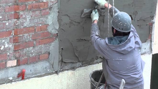 штукатурка фасада