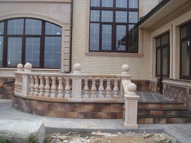 Архитектурный фасадный декор из бетона
