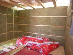 Теплоизоляция стен Роквул