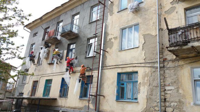 досрочный ремонт фасада