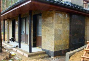 Фасады из мрамора и гранита