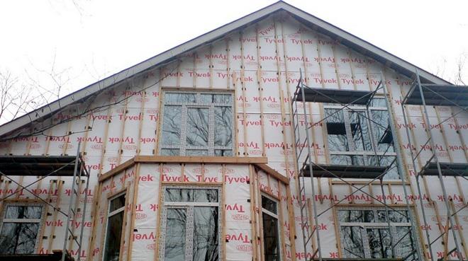 обрешетка для фасада дома