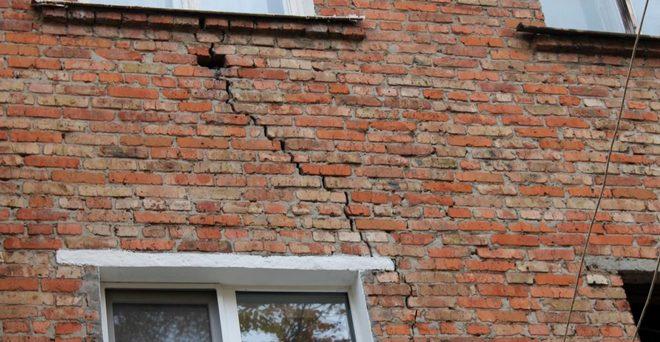 разрушение стен без гидроизоляции цоколя