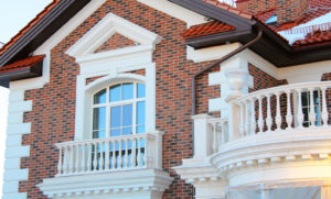 архитектурный декор на фасаде
