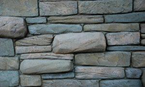 плоскорельефная штукатурка под камень