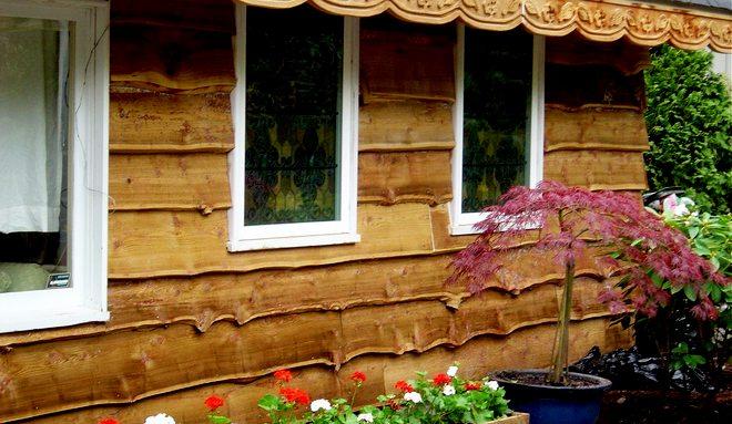 красивая отделка для загородного дома