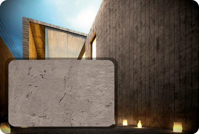 виды штукатурки под бетон