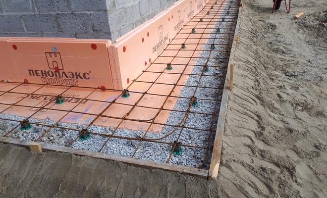 утепление отмостки из бетона