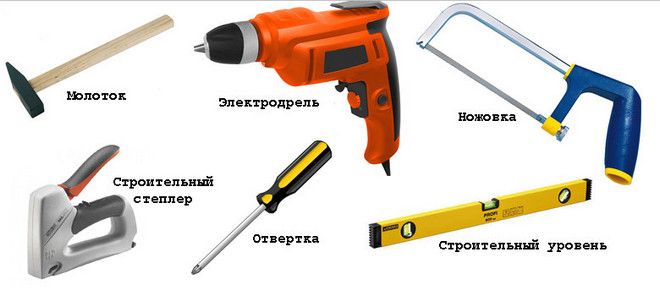инструменты для монтажа блок хауса