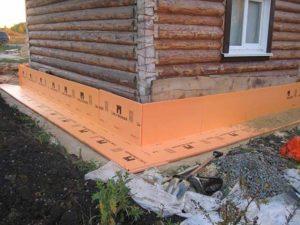 Теплоизоляция деревянных строений экструдированным пенополистиролом