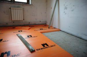 Как правильно крепить пеноплекс к бетону