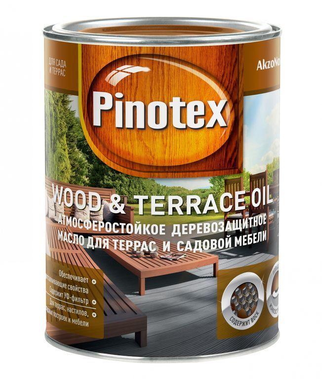 wood terrace oil