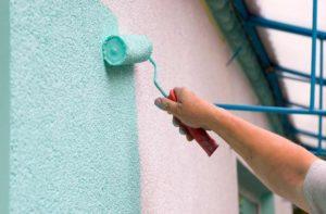 Окрашивания стен