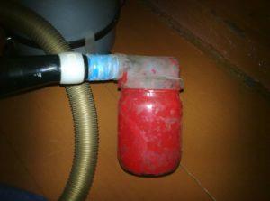 Устройство из пылесоса