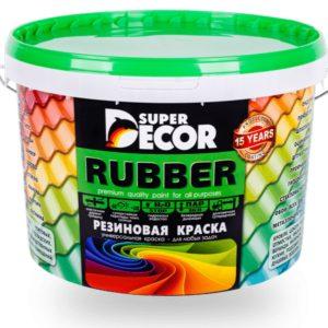 Краска Super Decor Rubber